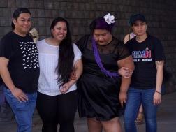 Some of the Pasifika Arts Showcase Crew